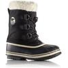 Sorel Youth Pac Nylon Boots Black